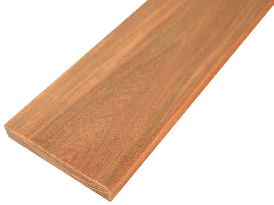 Dřevěné terasy Ipe
